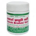 Брами вати, Адарш Аюрведик / Brahmi vati, Adarsh Ayurvedic / 40 грамм - 100 таблеток для мозга