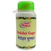 Медохар Гуггул, Шри Ганга / Medoher Guggul, Shri Ganga / 300 tab Medohar Guggulu для похудения