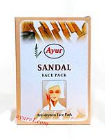 Маска для лица, для нормальной и сухой кожи лица, Сандал, Кхади / Anti-dryness Face Pack, Sandal, Khadi / 25 g
