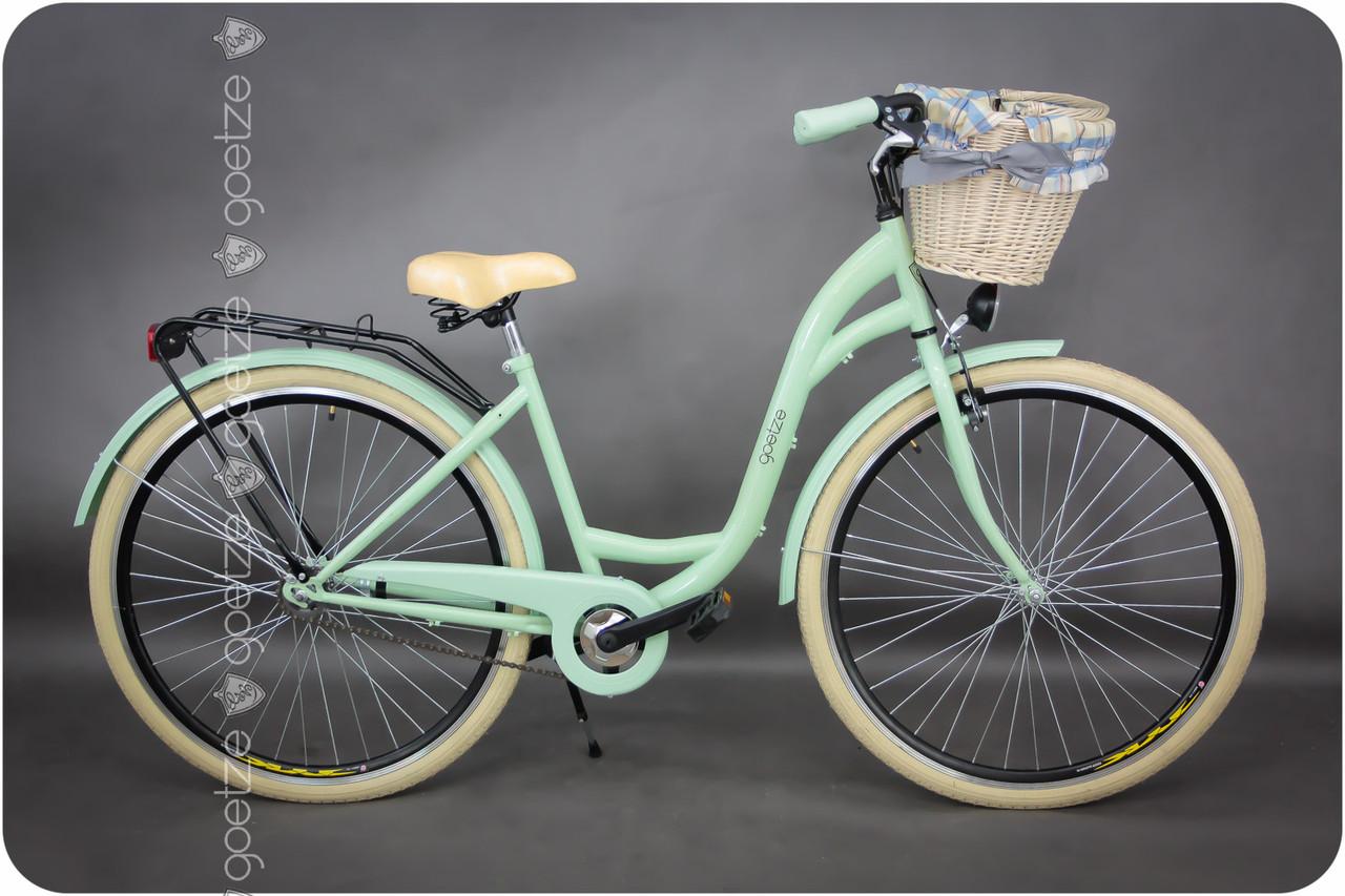 Велосипед Goetze style LTD 28 + фара и корзина в подарок