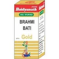 Брами / Брахми бати с золотом, Байдинах / Вrahmi Bati Gold, Baidyanath / 25таб