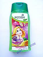 Детский шампунь Рапунцель, без слез, Биотик, Зеленое Яблоко / Biotique Disney/ Bio Green Apple Baby Shampoo/ 200 ml