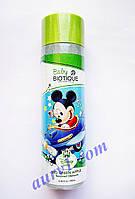 Детский шампунь  Микки Маус, без слез, Биотик, Зеленое Яблоко / Biotique Disney/ Bio Green Apple Baby Shampoo/ 200 ml