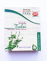 Травяная маска для лица (Против пигментации ), Тульси (базилик)  / Tulsi , Herbal Face Pack / 100 g