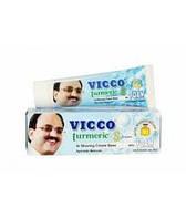 Крем для бритья Викко с куркумой с пеной / Vicco / 30 g