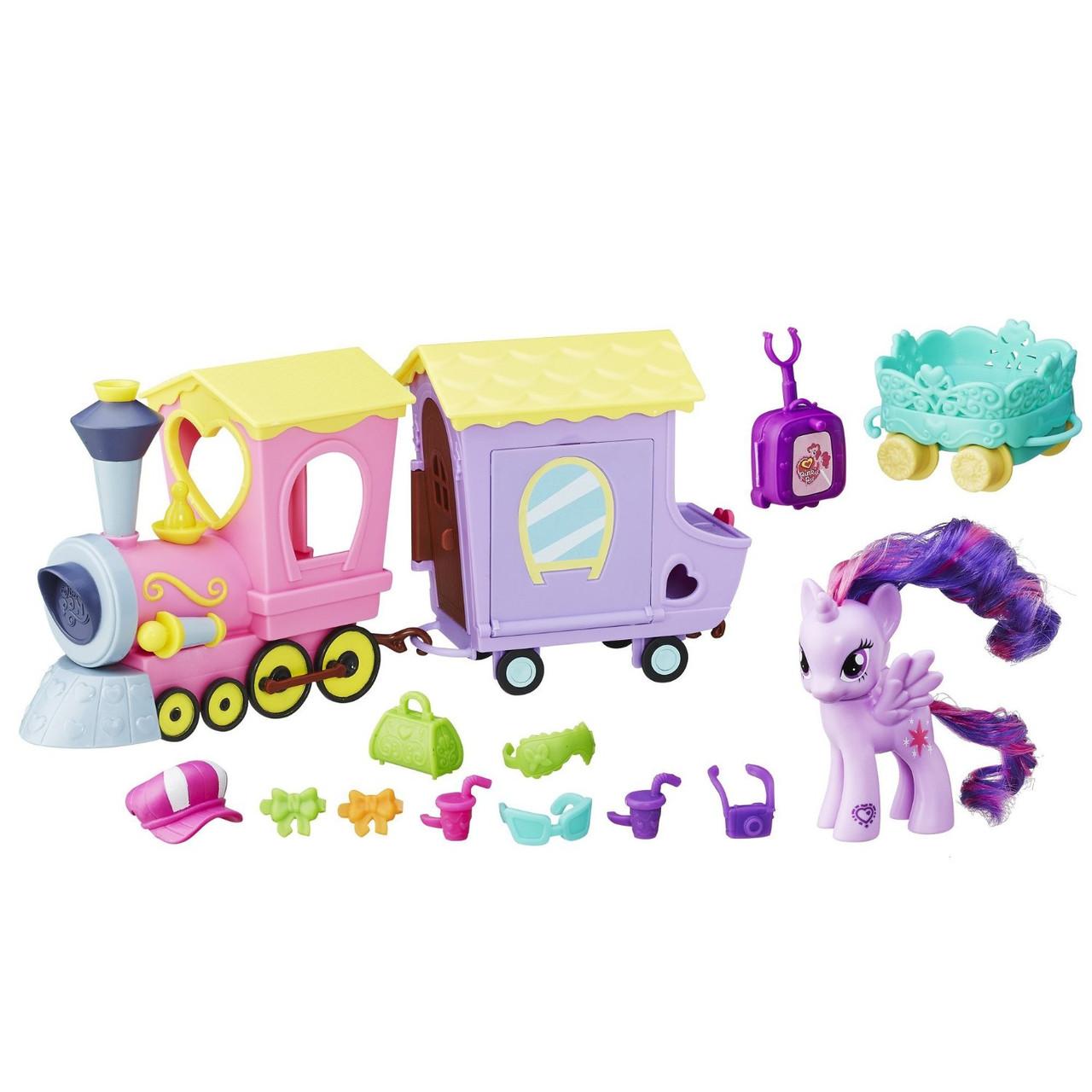 Пони Твайлайт Поезд дружбы игровой набор My Little Pony Explore Equestria Friendship Express Train