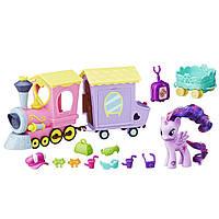 Пони игровой набор Твайлайт Поезд дружбы My Little Pony Explore Equestria Friendship Express Train, фото 1