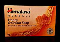 Сливочно-медовое мыло, Гималая / Nourishing Cream & Honey Soap, Himalaya / 75 gr