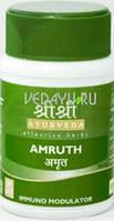 Амрут, Шри шри Аюрведа / Amruth, Sri Sri Ayrveda / 60 tab