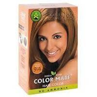 Хна травяная, золотисто-коричневая , на натуральной основе, Color Mate, Natural Brown 9.4