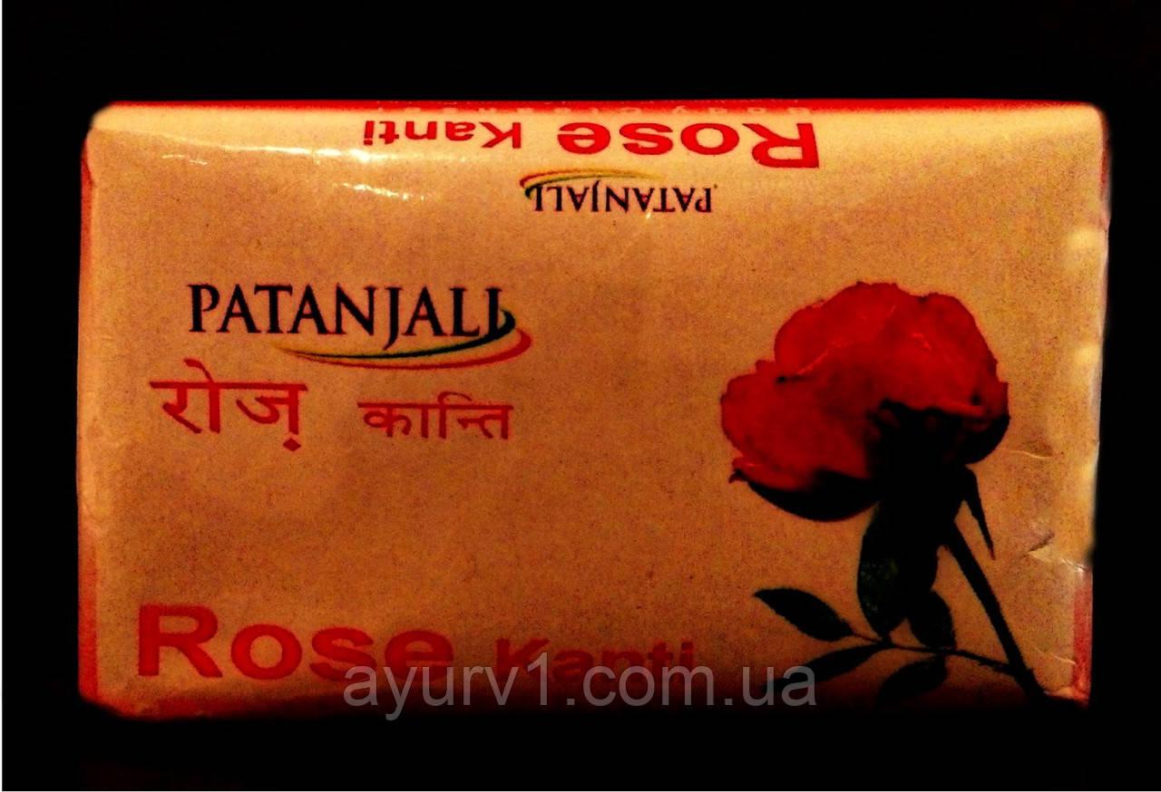 Мыло, Роза, Патанджали / Soap, Rose, Kanti, Patanjali / 75 gr