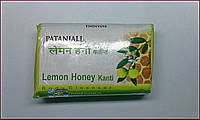 Мыло для тела, Лимон и Мед, Патанджали / Lemon Honey Kanti Soap, Patanjali / 75 gr