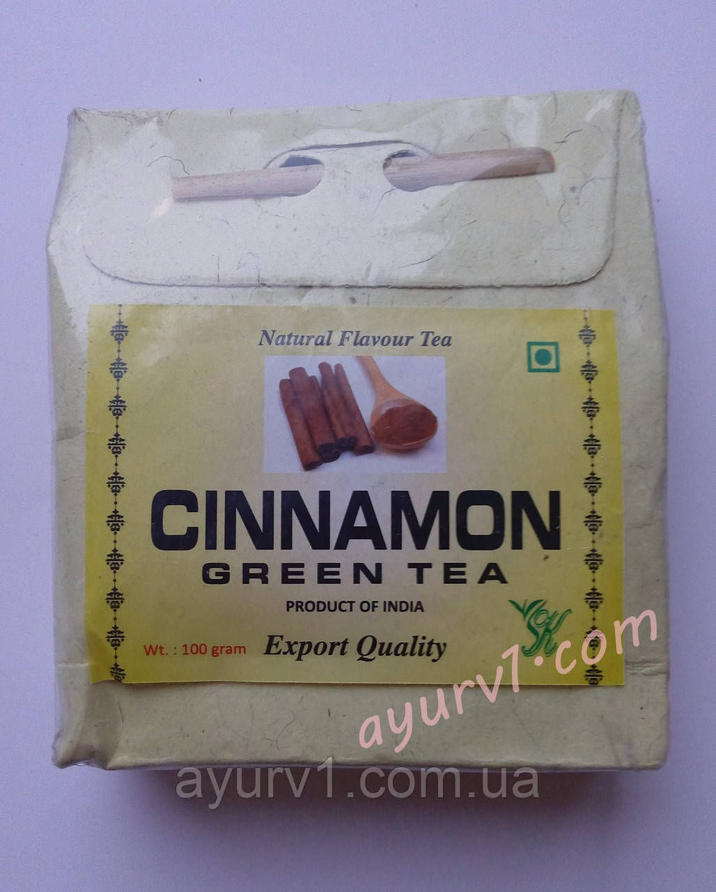 Cinnamon, Green Tea /Зеленый чай с корицей/100gr