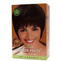 Хна травяная, светло-коричневая, на натуральной основе, Color Mate, Natural Brown 9.7, 15гр