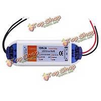 12v 72w LED водитель электроснабжения водителя ac 90-240В