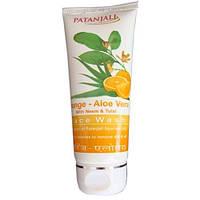 Cредство для умывания Апельсин и Алое вера, Патанджали / Orange Aloe vera Face Wash, Patanjali / 60 g.