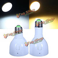 Волшебная Лампа LED перезаряжаемые фонарик Е27 4вт белый/теплый белый