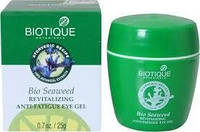 Для кожи вокруг глаз Biotique Seaweed Anti-Fatigue Eye Gel, Био Водоросли, 50 гр