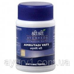 Амрутади вати, Шри Шри Аюрведа / Amrutadi Vati, Sri Sri Ayurveda / 60 tab
