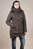 Зимняя молодежная женская куртка - парка (42-50)