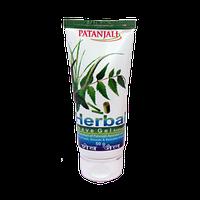Гель-антисептик для бритья, Патанджали / Herbal Shave Gel, Patanjali / 50 г
