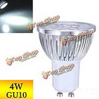 Затемнения GU10 4вт 4LED чистый белый свет LED пятно лампы 220В