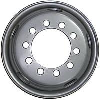 Грузовые диски BTRW R17.5 10x225 ширина 6.75 на прицеп, колесные диски на 10 отверстий конус