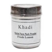 Mаска для лица, Лимон, Кхади / Herbal face pack, Lemon, Khadi / 50 г
