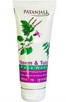 Face Wash, Neem & Tulsi, Patanjali / 60 gr