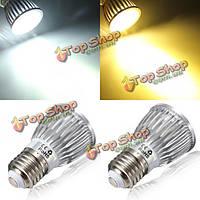 Е27 LED шариков 5W белый 500lm спот Лампа LED лампы переменного тока 85-265в