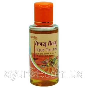Аюрведическое масло для массажа головы и тела (Patanjali Tejus Tailum) / 100 ml