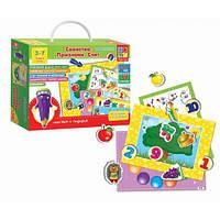 """Обучающая игра с магнитами """"Свойства, признаки, счет"""" VT3501-01 Vladi Toys"""