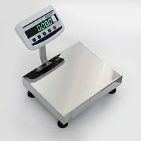 Весы складские напольные электронные до 200 кг ТВ1-200-50-(400х400)-S-12ер