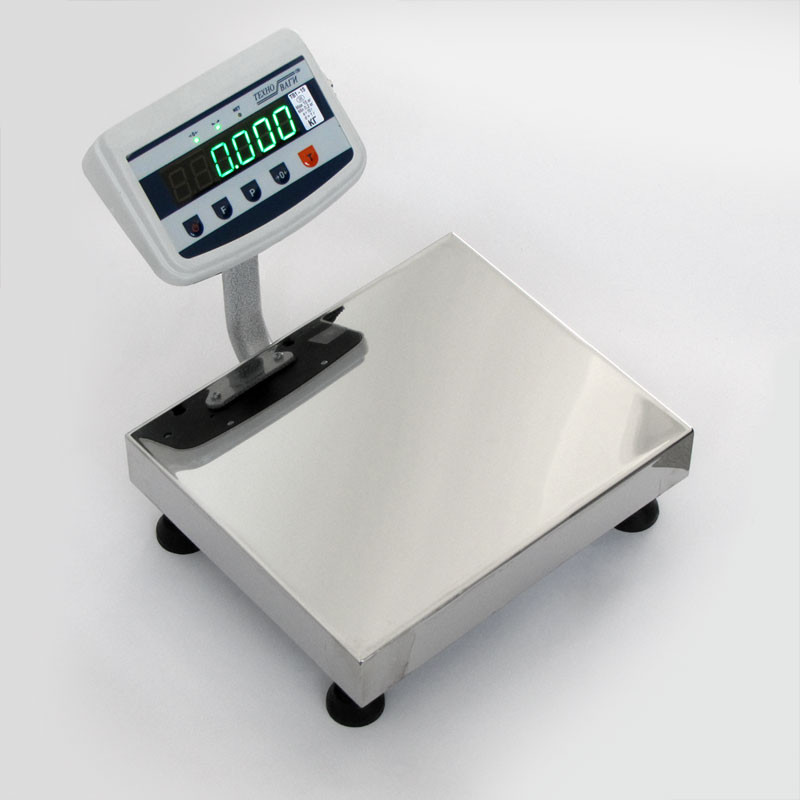 Весы промышленные электронные 150 кг ТВ1-150-50-(600х700)-S-12ер - Компания УкрВесы [Ukrvesi] в Днепре