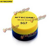 Nitecore SG7 фонарик силиконовая смазка маслом для обслуживания розничной торговли
