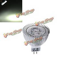 Затемнения MR16 6 Вт 430-460lm чистый белый свет LED пятно лампы 12-24В