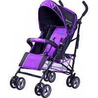 Коляска прогулочная Caretero Luvio - purple