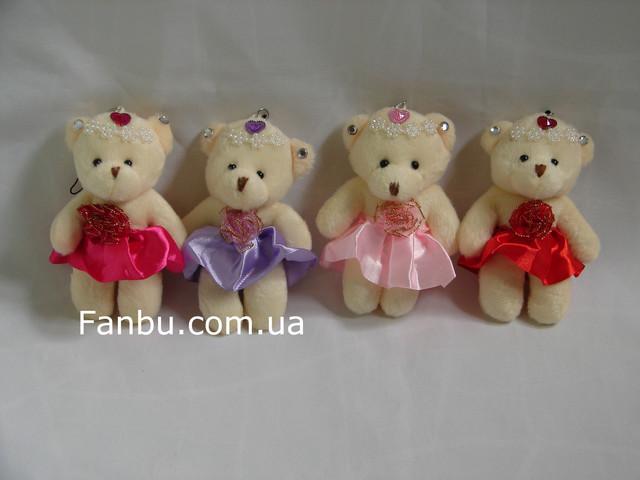 Мягкие игрушки и декор для букетов ко Дню влюбленных .