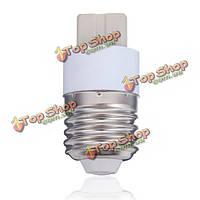 E27 к G9 с керамическим LED Свет лампы накаливания адаптер конвертер
