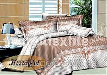 Комплект постельного белья ТМ KRIS-POL (Украина) Бязь голд Евро