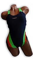 Купальник женский спортивный для бассейна. Rivage Line. Синий. 8980, фото 1