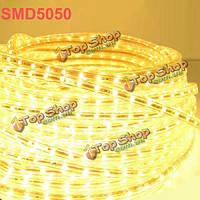 5m 9.6w/м 300 LED SMD 5050 LED газа waterproof(ip66) 220В