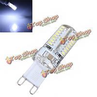 Устройство G9 3W чистый белый свет SMD 3014 64 LED пятно света лампы 220В
