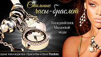 Женские часы-браслет Pandora Пандора белые, фото 1