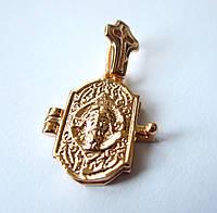 Ладанка с молитвой , 0133 , медицинская сталь + ювелирный сплав