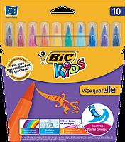 Фломастеры Bic VISAQUARELLE™ 10цв.