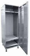 Шкаф для одежды повара из нержавеющей стали