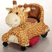 Детский электромобиль, жираф M 3160BR-2