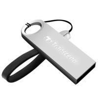 Flash Transcend Jetflash 520 32Gb silver USB флешка