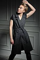 Жилет-пальто Дольче диагональ, фото 1